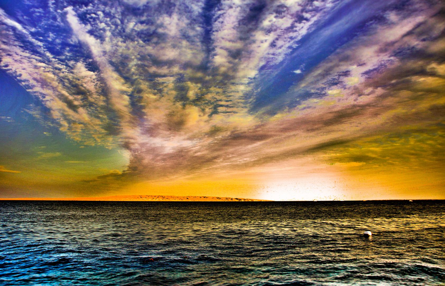 Hurghada Himmel
