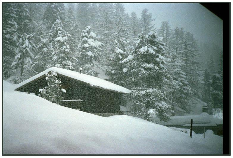 Hurra, es schneit!