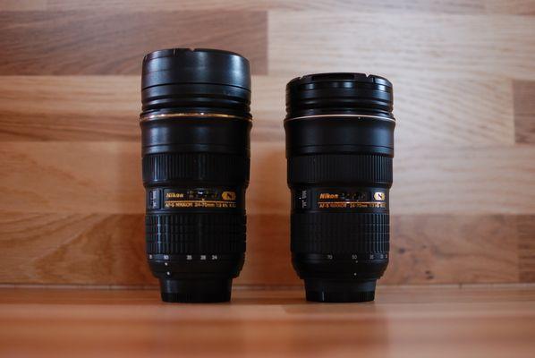 Hurra, ich habe jetzt 2 Objektive AF-S 24-70mm