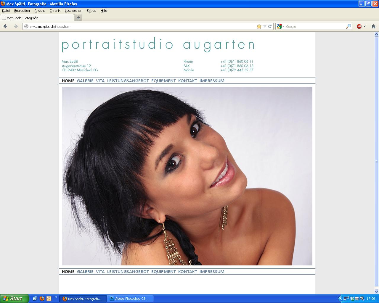 Hurra, meine eigene Homepage ist online!