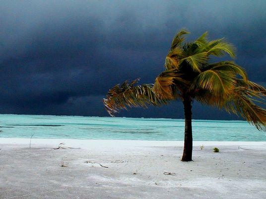 Hurricane, Fun Island, Maldives