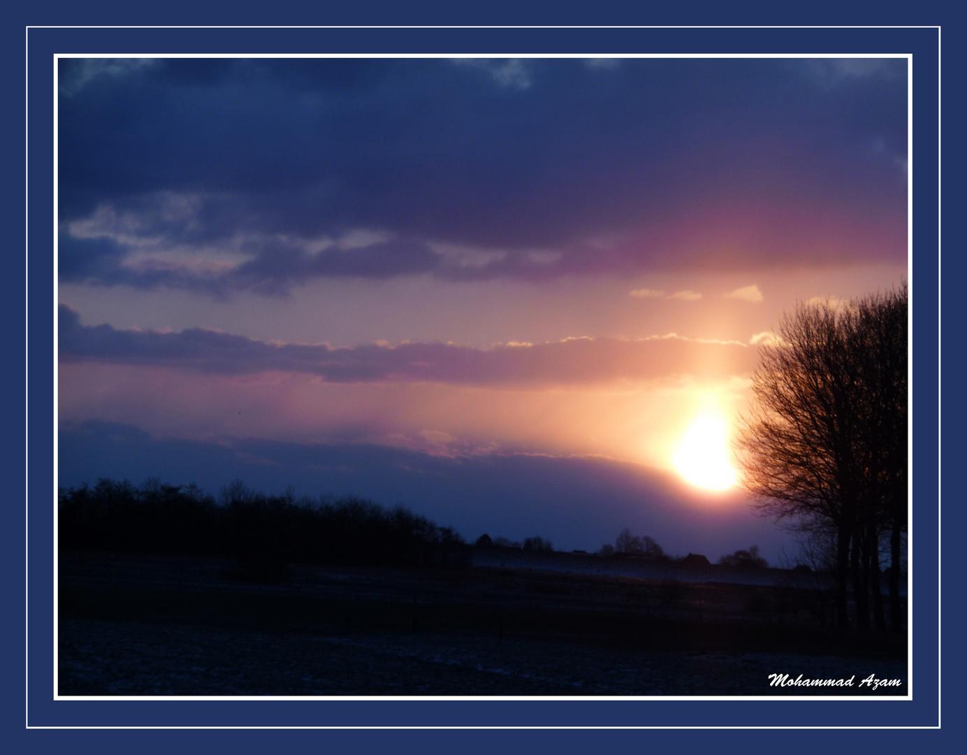 HUSUM Sonnenaufgang