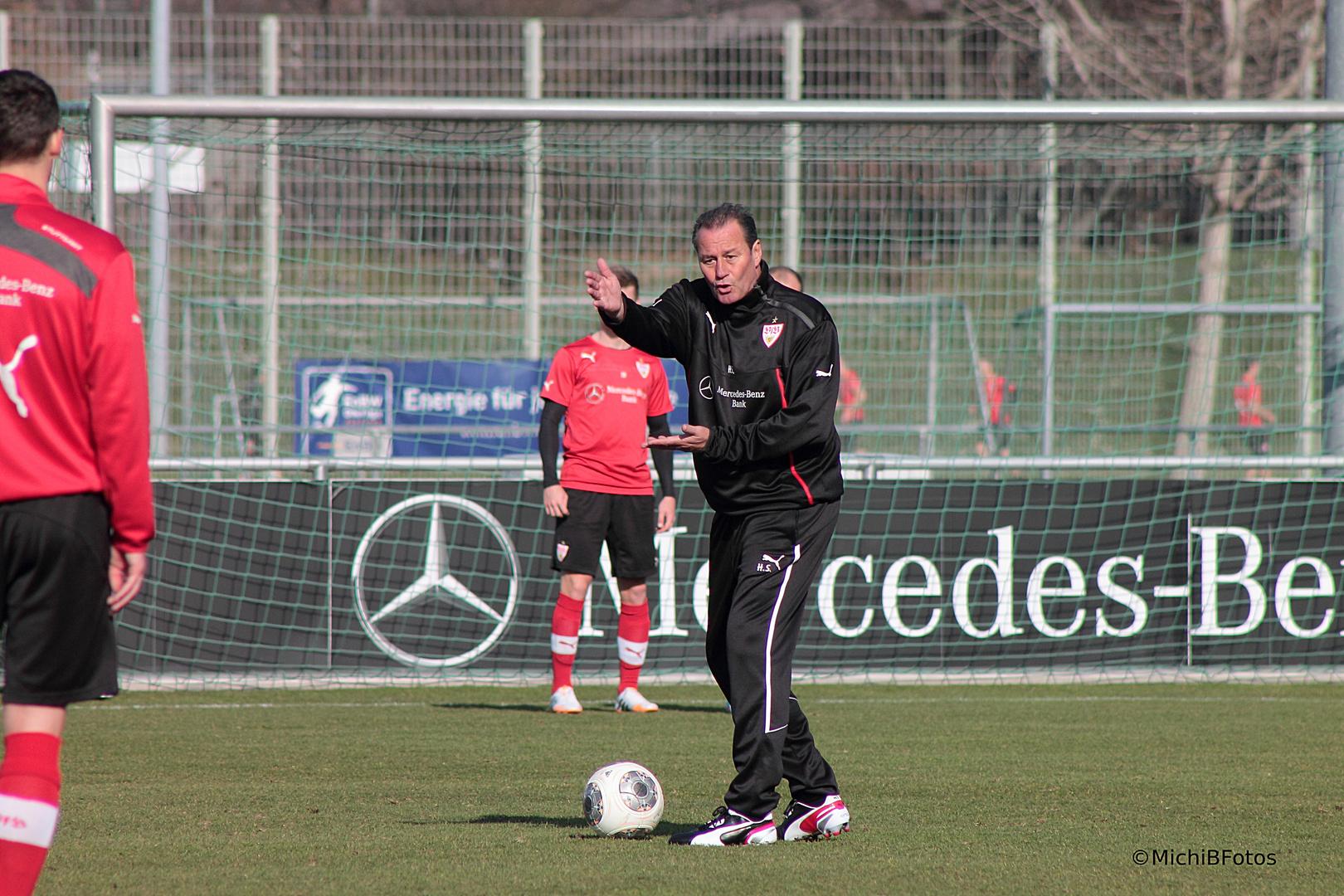 Huub Stevens VFB Stuttgart