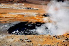 Hverir - das Hochtemperaturfeld oberhalb der Myvatn-Region