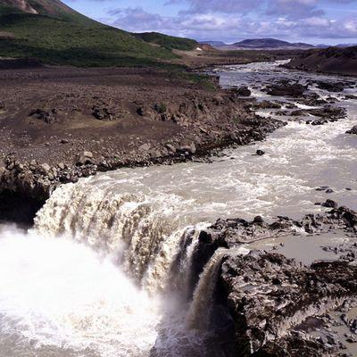 Hvitafoss  Island
