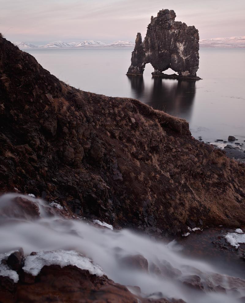 Hvítserkur-Wasserfall - Island #1024