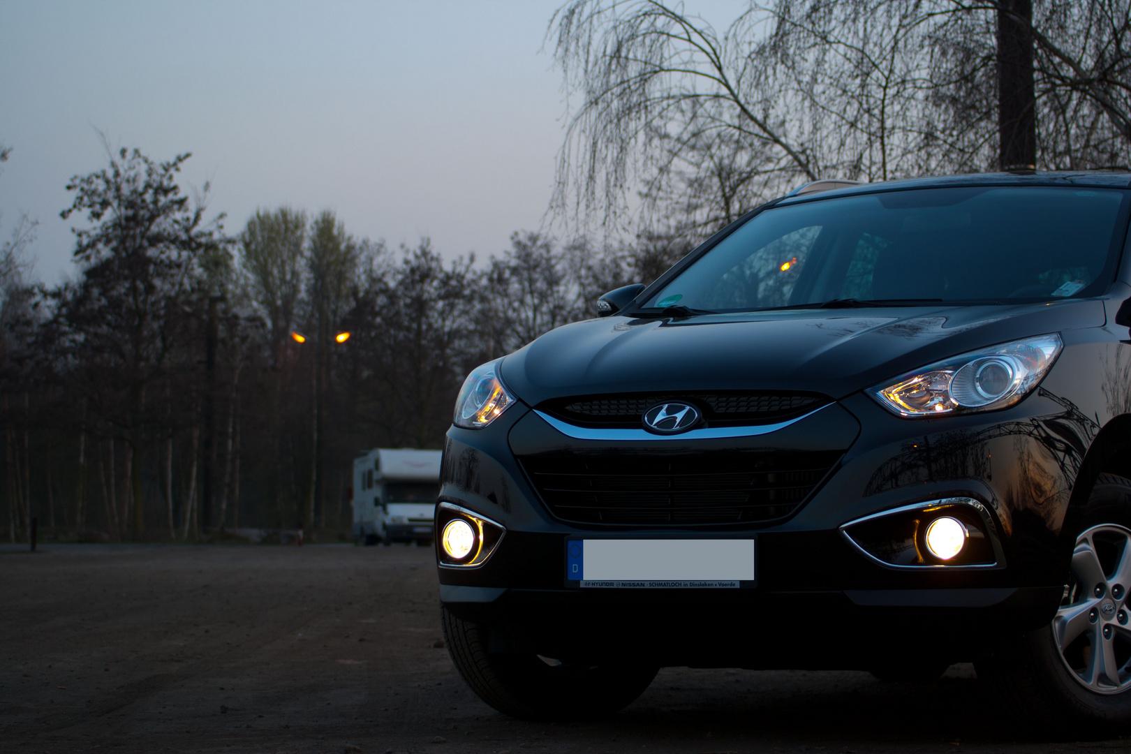 Hyundai IX35 HDR Fotorealistisch