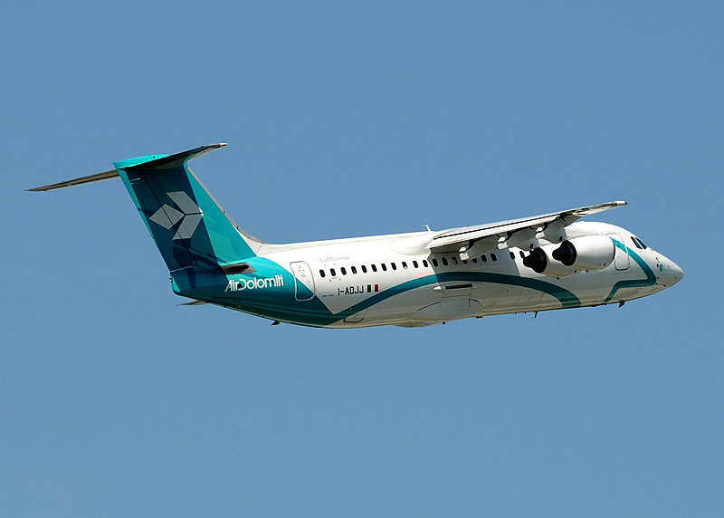 I-ADJJ - Air Dolomiti British Aerospace BAe 146-300