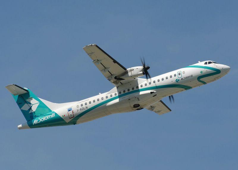 I-ADLN Air Dolomiti Aérospatiale ATR-72