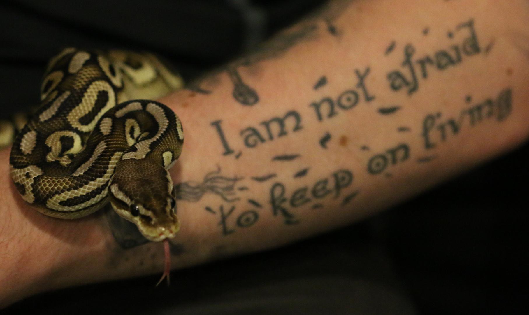 i am not afraid....