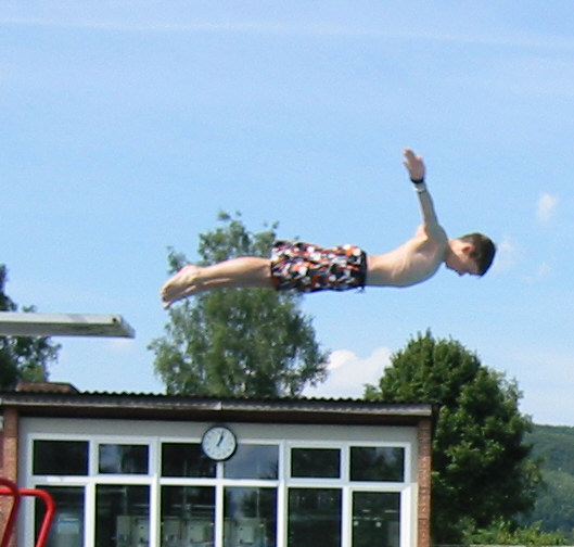 I belive I can fly...:P