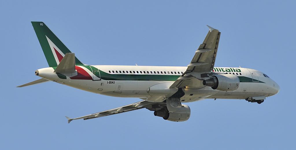 I-BIKI - Alitalia - Airbus A320
