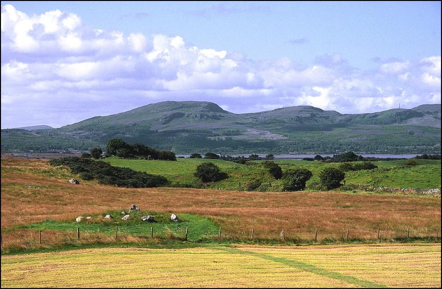 i colori della campagna Irlandese