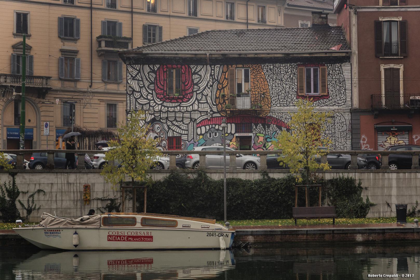 i colori della darsena di Milano