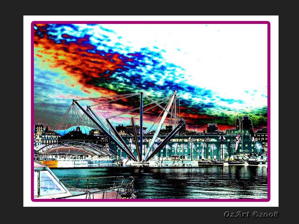 """"""" I colori della mia """"Zena"""" - Il Porto Antico """""""