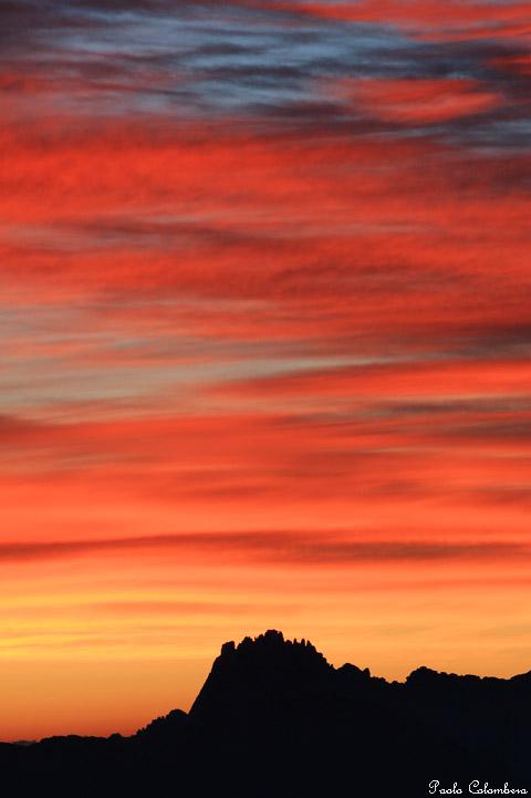 I colori di un'alba