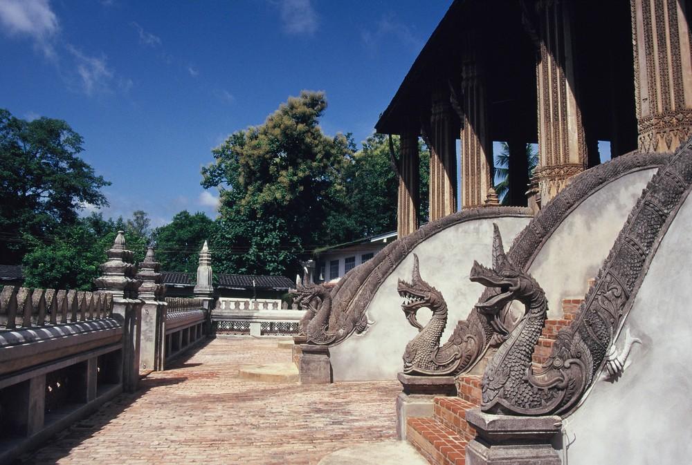 I draghi del tempio.