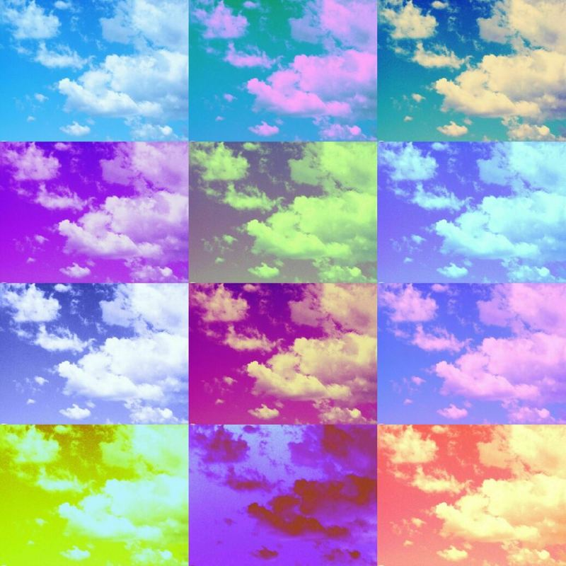 I Dreamt of Clouds and There Was One for Every Mood I Had Been in Last Week