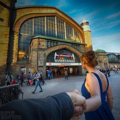 I Follow You: Hauptbahnhof / Wandelhalle