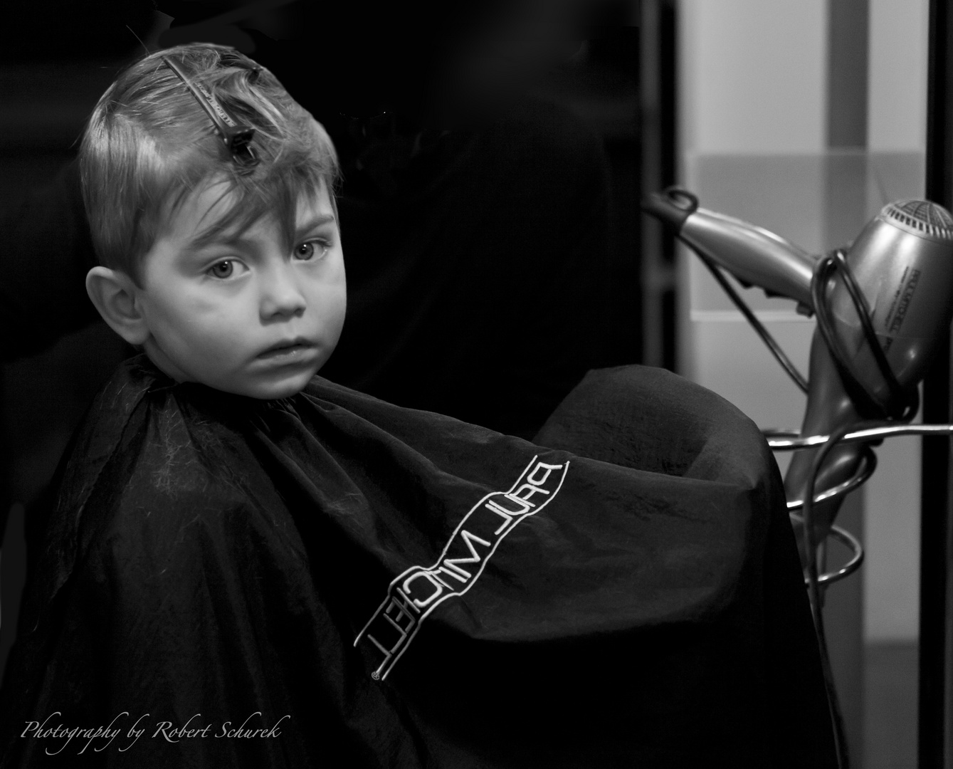 I get my first haircut