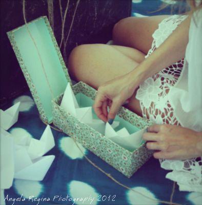 I keep in the box a dream, a hope, a memory ...
