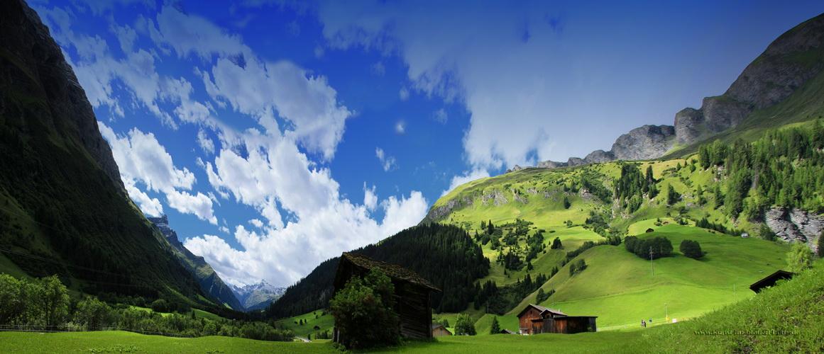I like Ticino in the springtime