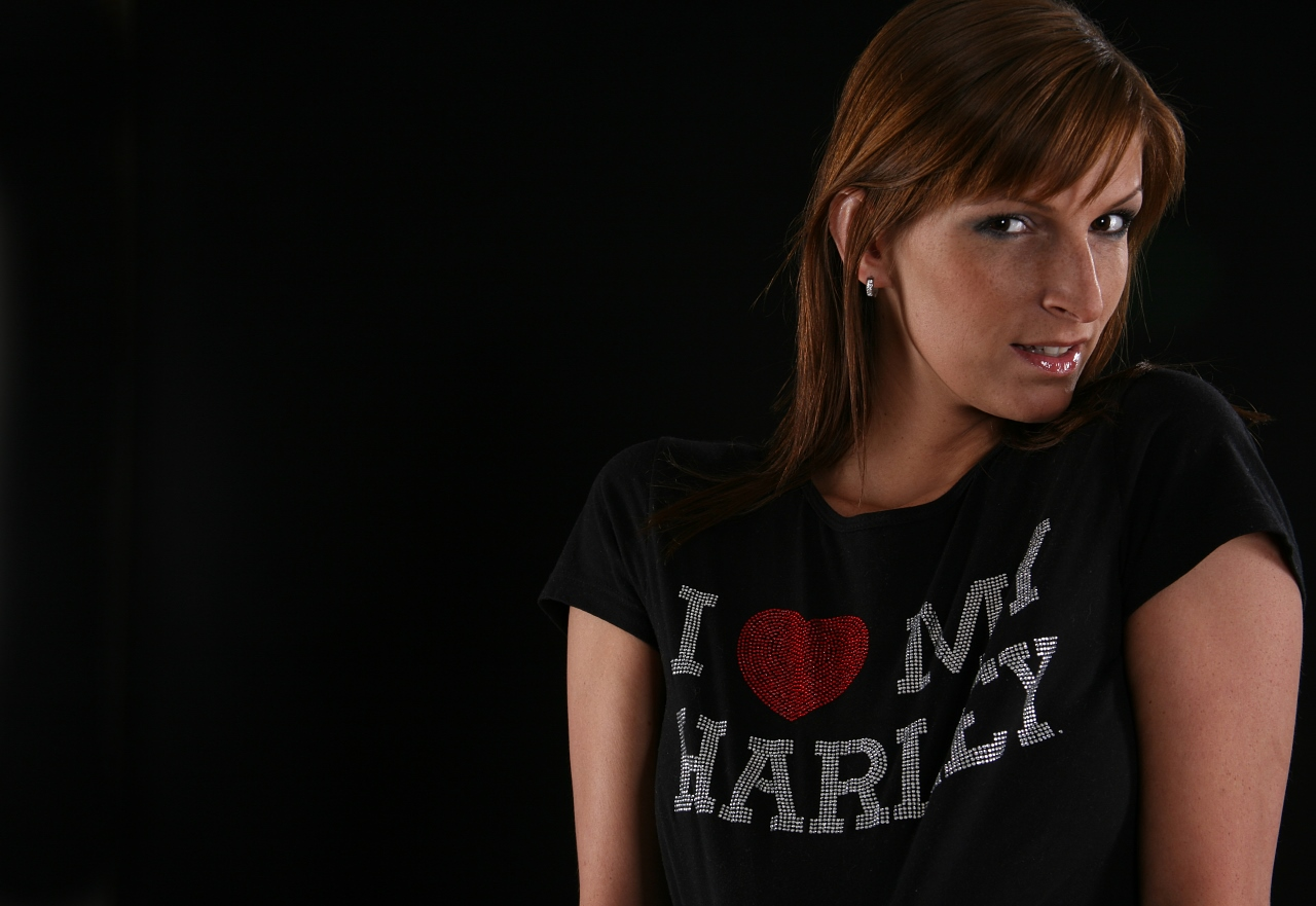 I love my Harley ....