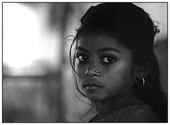 I met her in Rishikesh.............