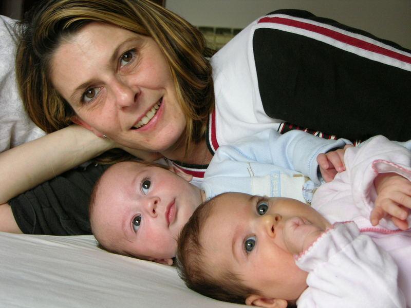 i miei piccoli e la mamma