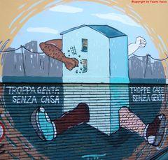 i murales della Garbatella...