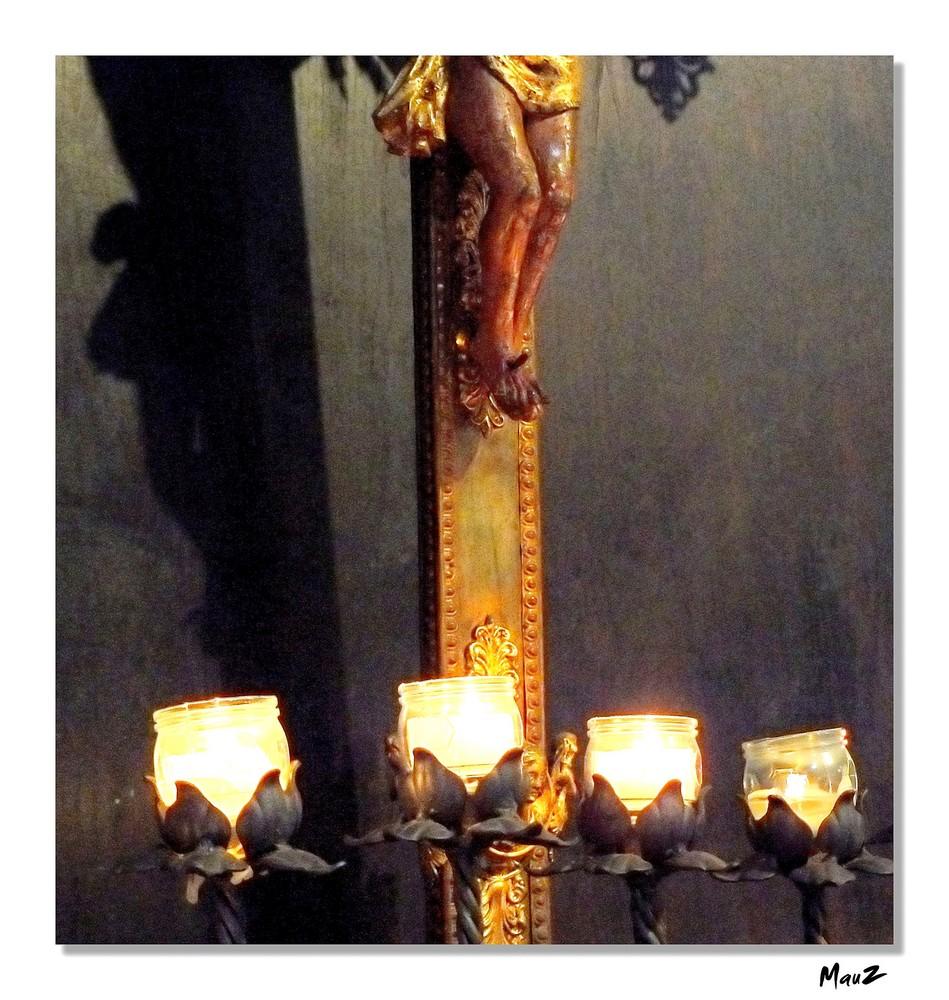 .. I piedi del Cristo...