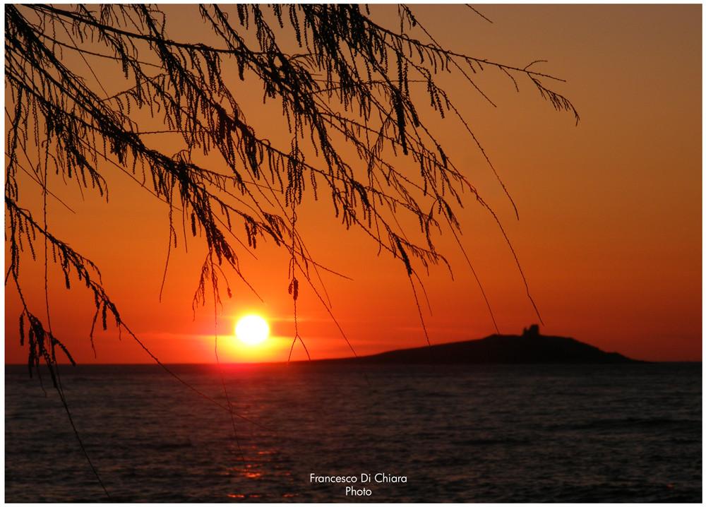 I primi bei tramonti dell'anno