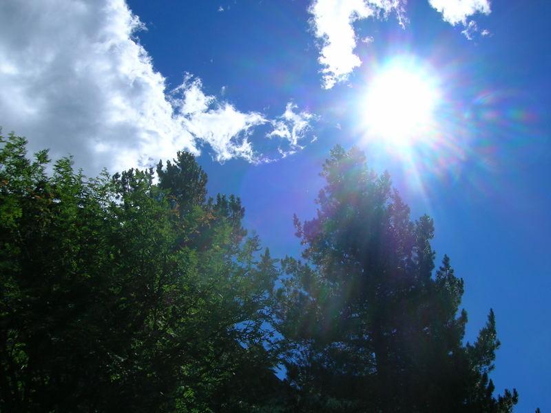 i raggi del sole