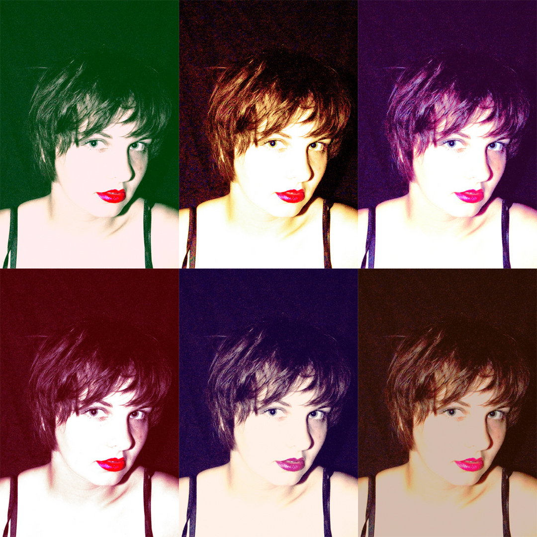 i wanna be marilyn monroe painted by warhol