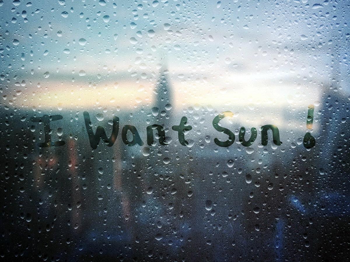 I Want Sun !