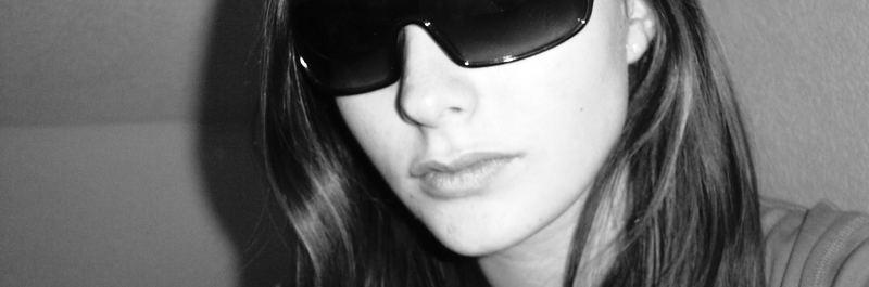 I wear my sunglasses at night....