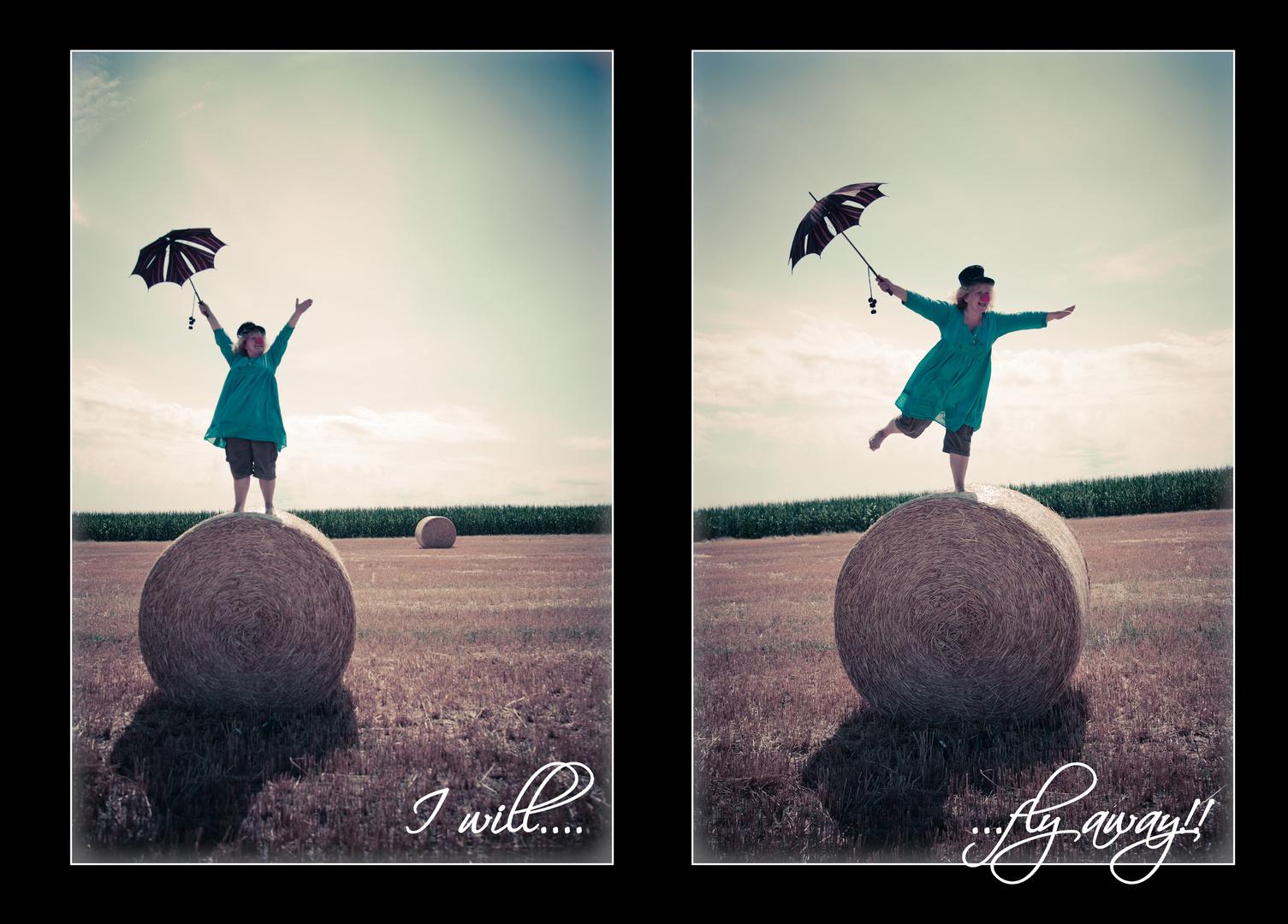I will fly away.....