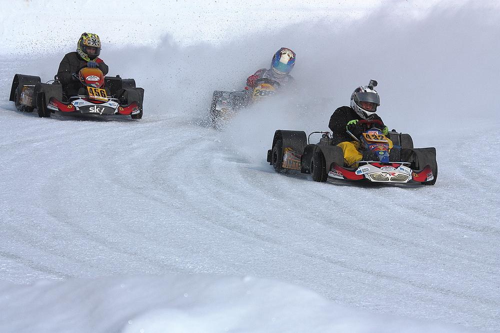 IAAP - Eisrennen - Weißenbach 2013 - Finallauf - Go Kart