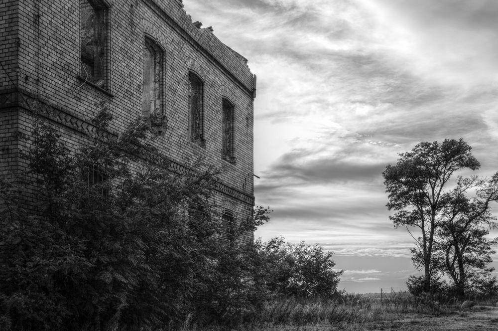 IBA-Terassen Ruine