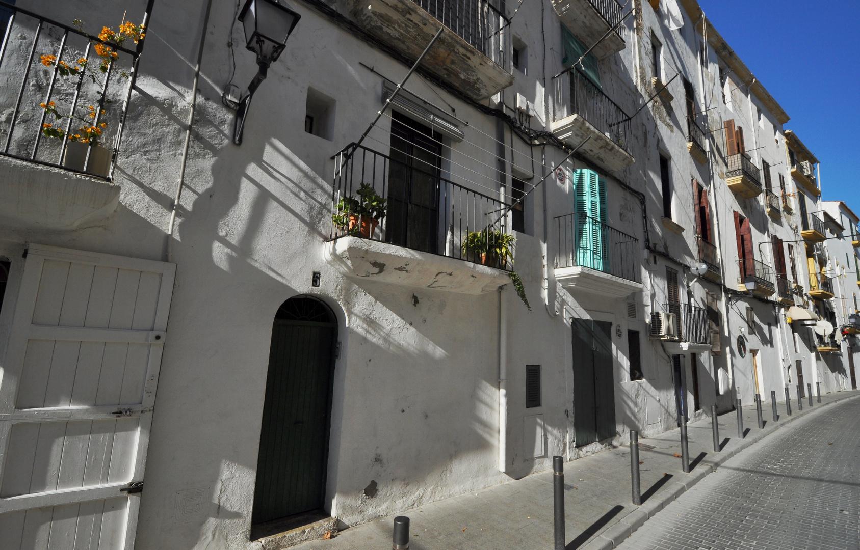 Ibiza: Gasse in Sa Penya