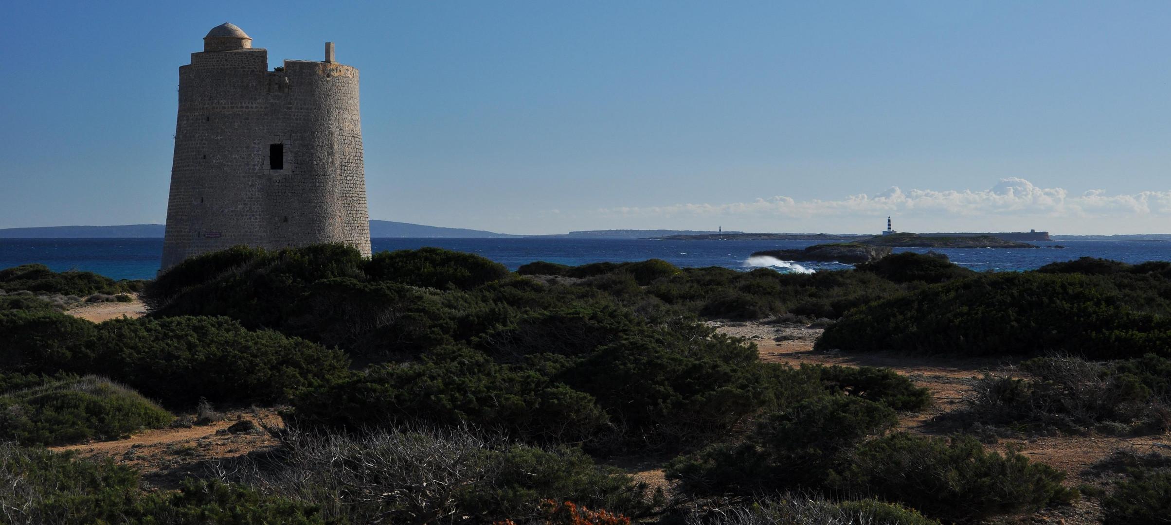 Ibiza: La Torre de ses Portes