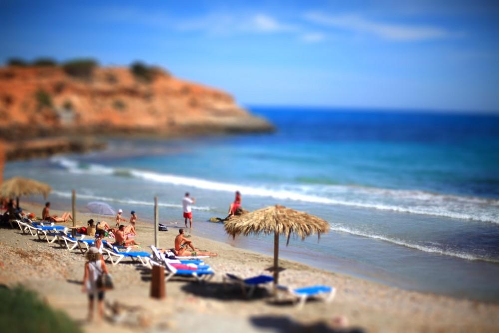 Ibiza Tilt-Shift