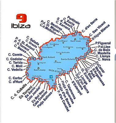 Ibizas Calas, (Buchten)
