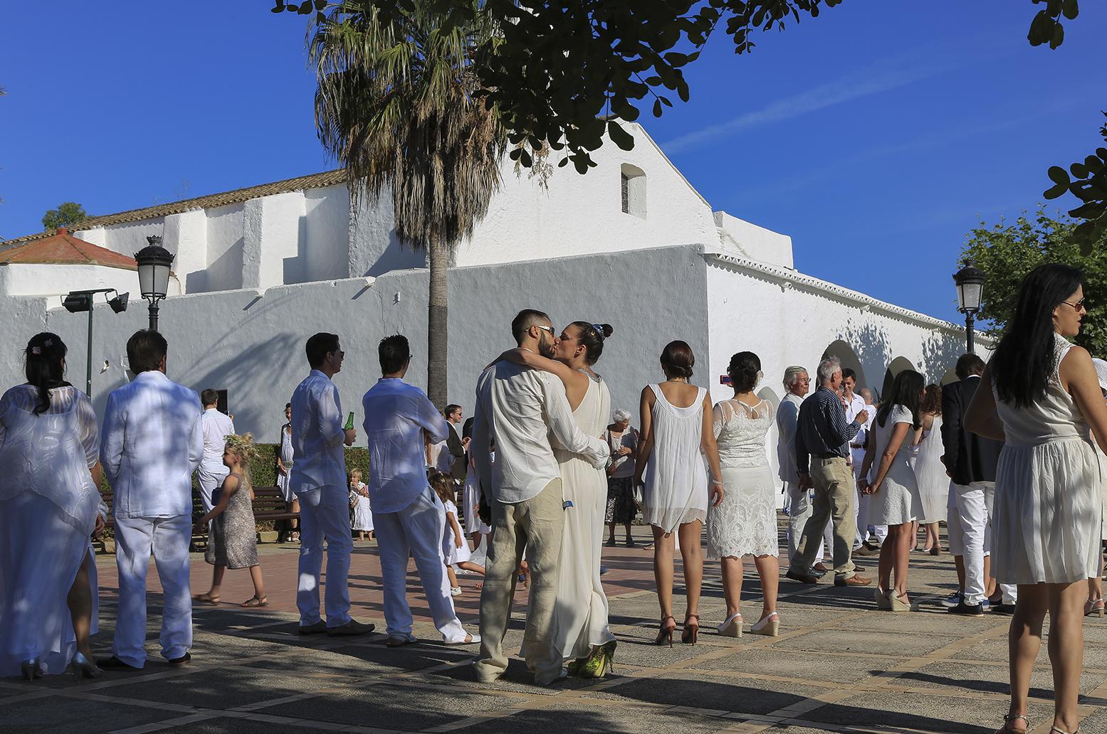 Ibizenkische Hochzeit