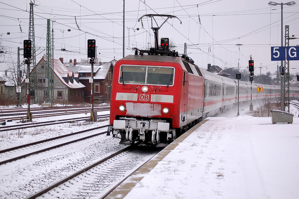 IC 73929 ( Zug Anfang ) in Lichtenfels /Ofr