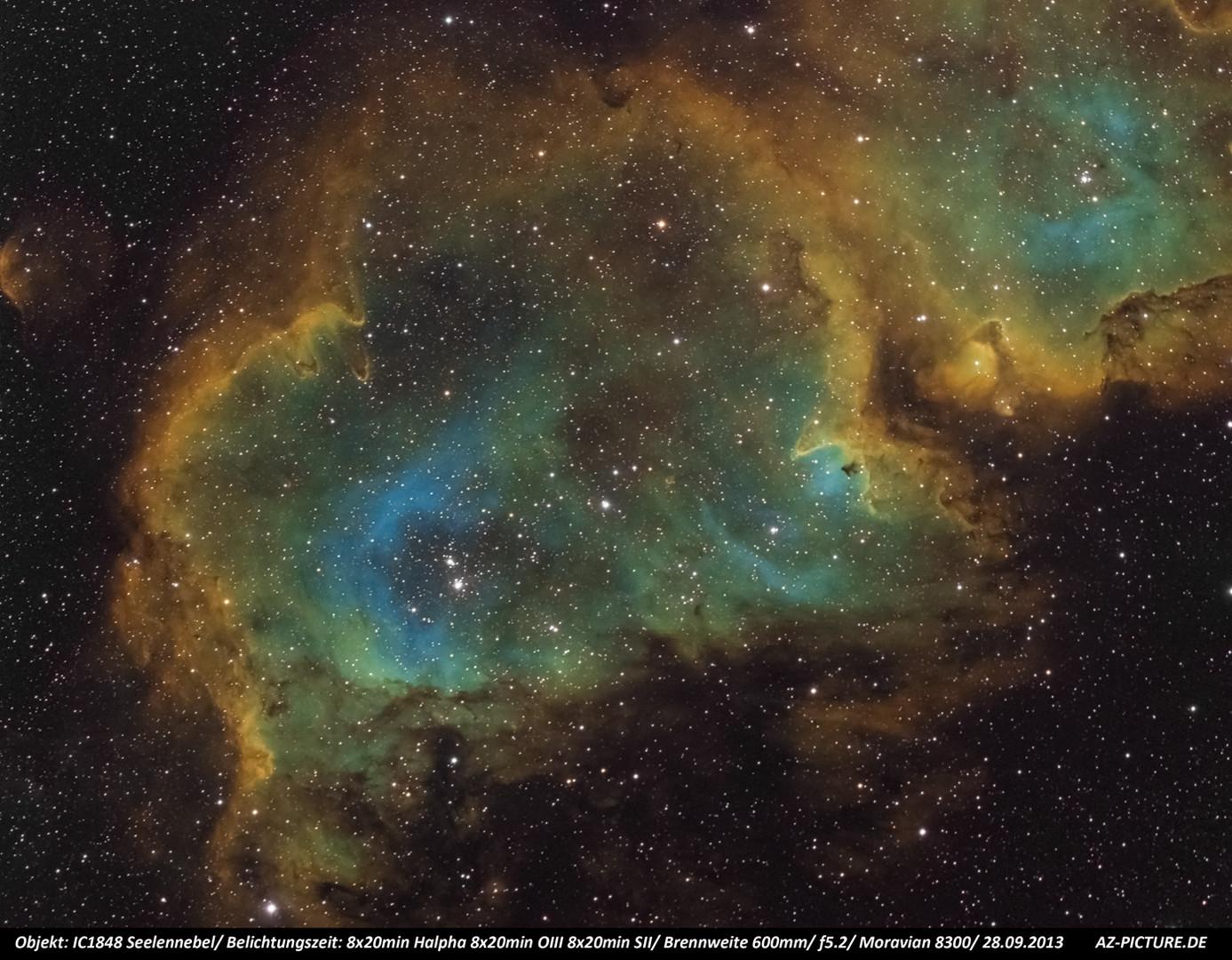 IC1848 Seelennebel