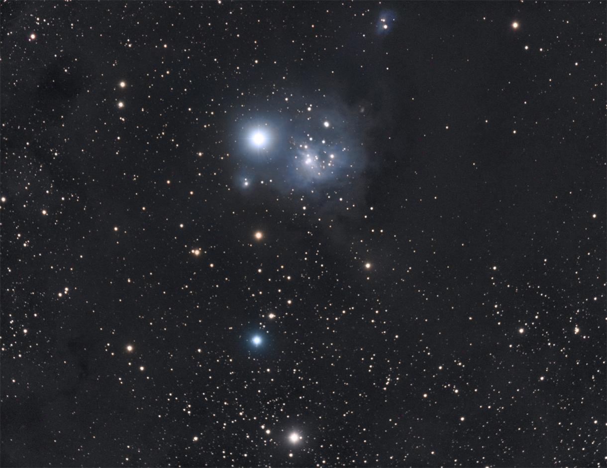 IC348 im Sternbild Perseus