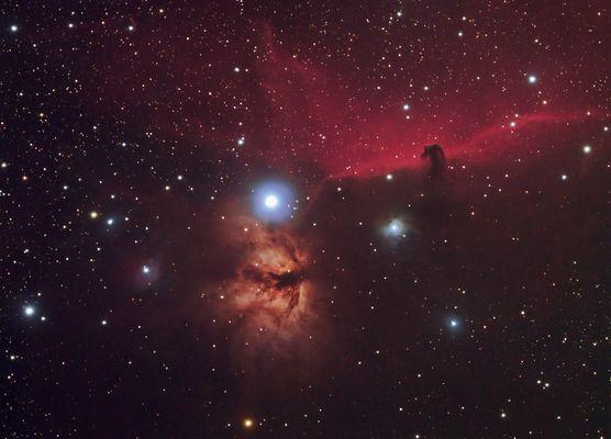 IC434-Pferdekopfnebel