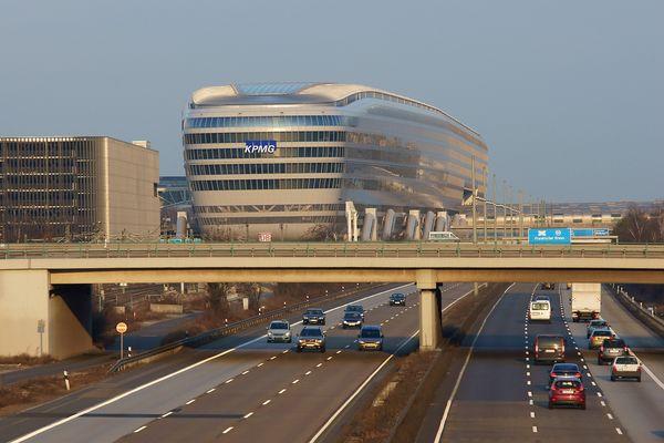 ICE-Bahnhof am Flughafen Frankfurt/Main