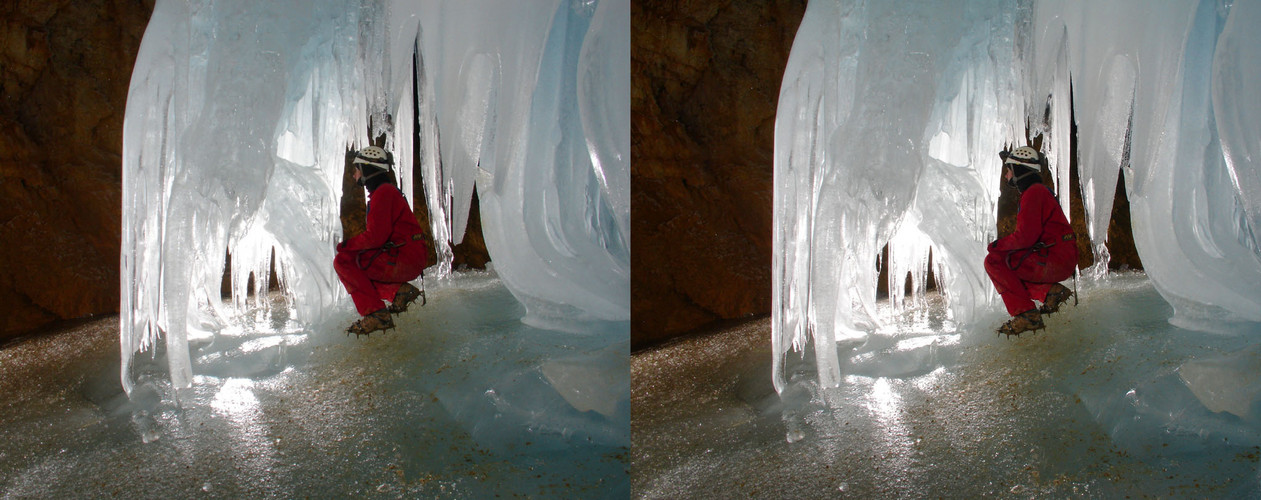 Ice Cave - Austria